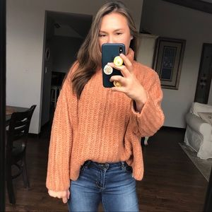Free People Fluffy Sweater Size Small